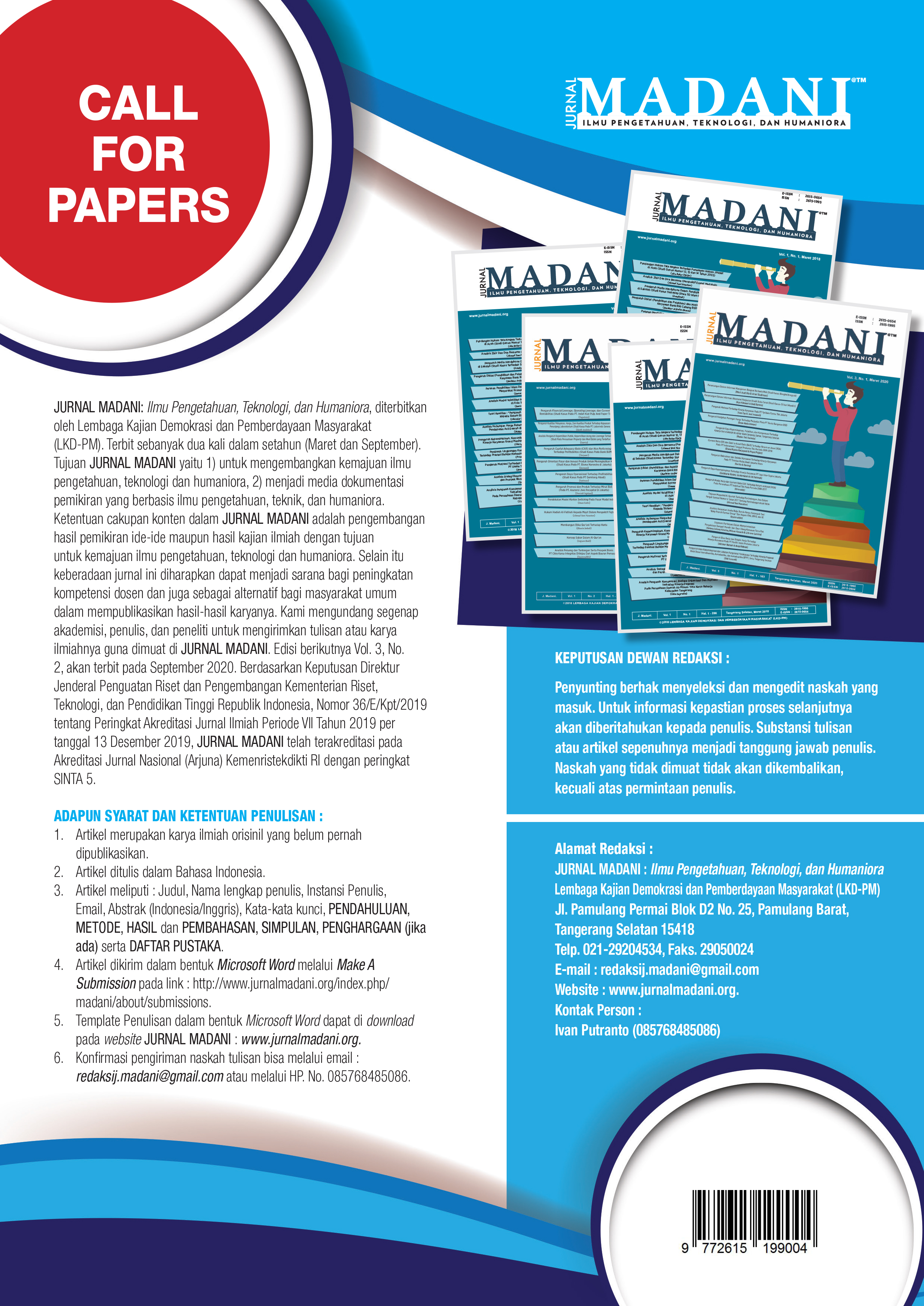Call_For_Papers_J.Madani_Vol_._3,_No_._1